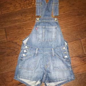 Levis denim overalls!! Excellent condition!